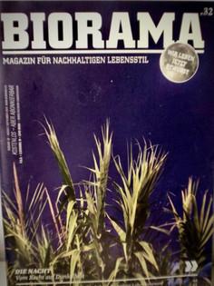 BIORAMA: Texterstellung von Print- und Onlineartikel