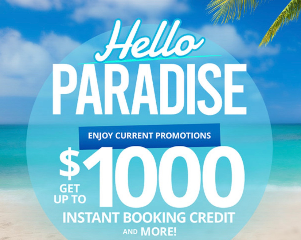 Sandals Resorts are open again!! Take advantage of some incredible promotions!!