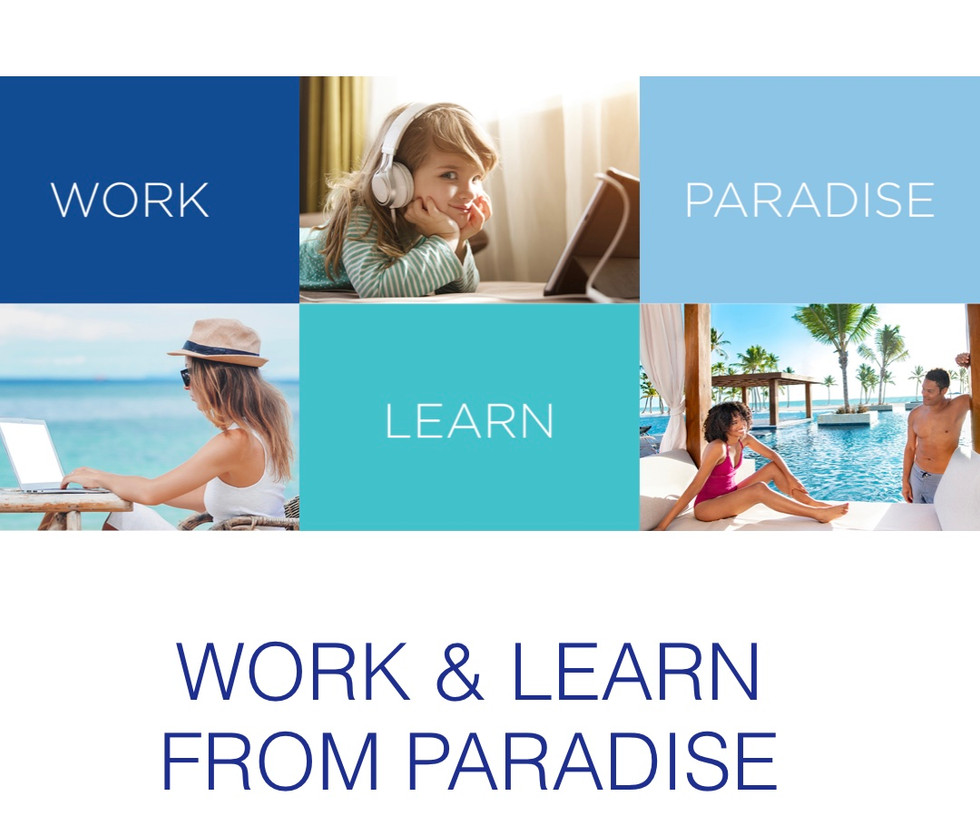 Did you know working from home, or going to class from paradise is now a reality?  Thanks to Royalto