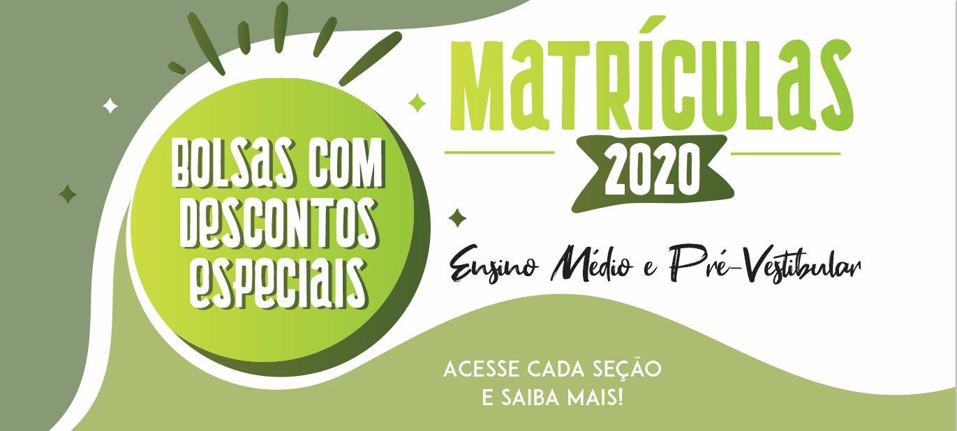 MATRÍCULA2020