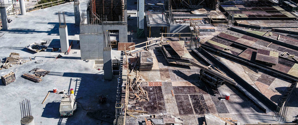 Construction tracking of Frost Tower I August 2018 I White Cloud Drones