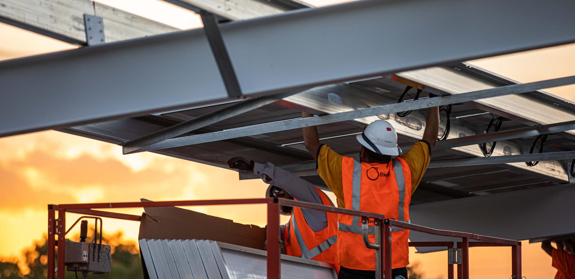 Go Smart Solar | Big Sun Community Solar - White Cloud Drones