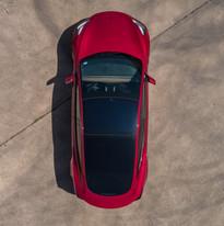 Jay's Detail Red Tesla