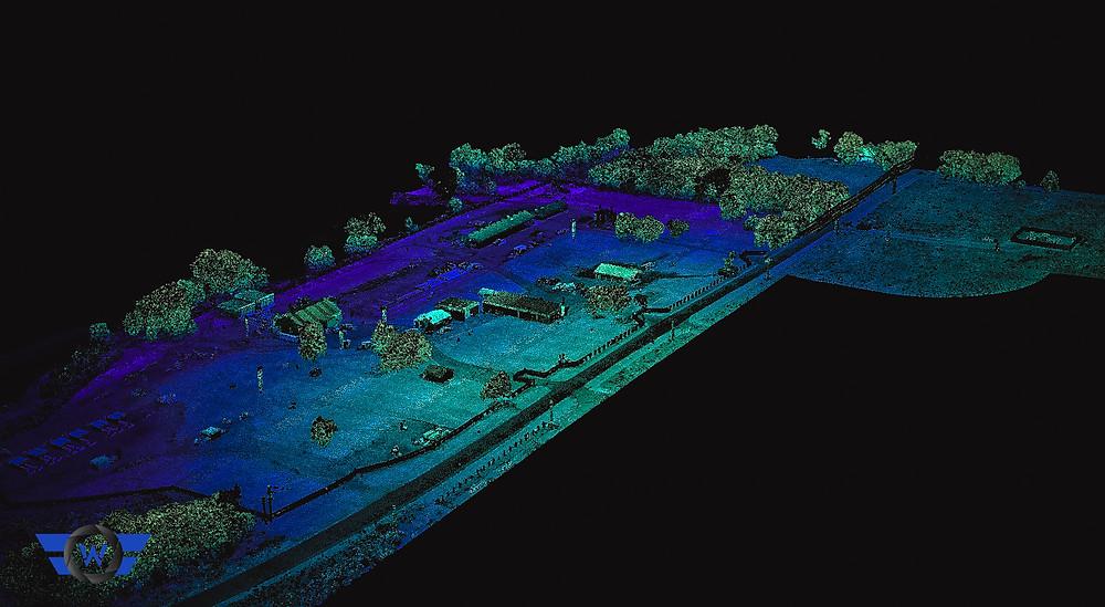 lidar drone uav agriculture