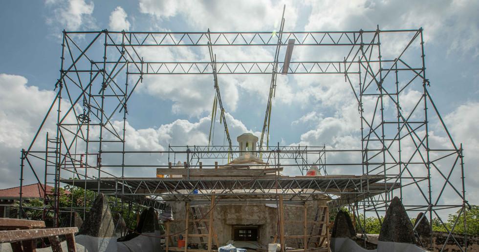 Mission Concepción, San Antonio, Texas - White Cloud Drones