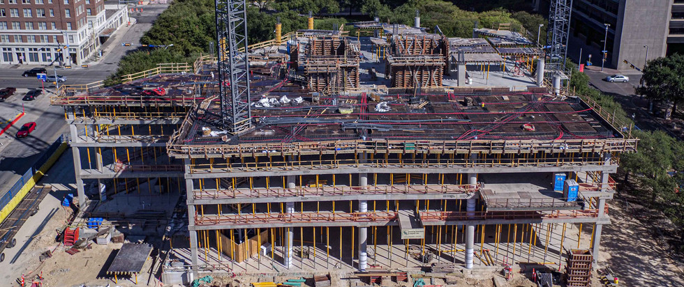 Construction tracking of Frost Tower I October 2017 I White Cloud Drones