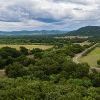 Aerial photo of Hill Country