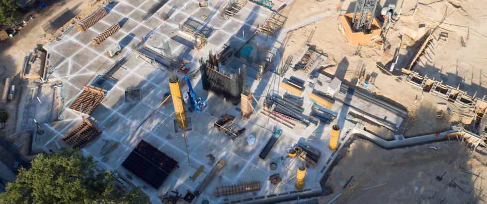 Construction tracking of Frost Tower I July 2017 I White Cloud Drones