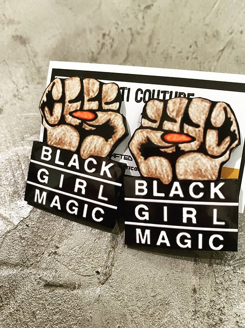 BLACK GIRL MAGIC FIST