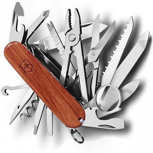 Cuchilla Swiss Champ, madera dura - 1.6794.69