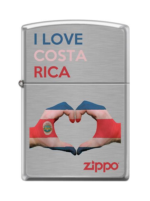 Encendedor Zippo  200CI017232 - I love Costa Rica