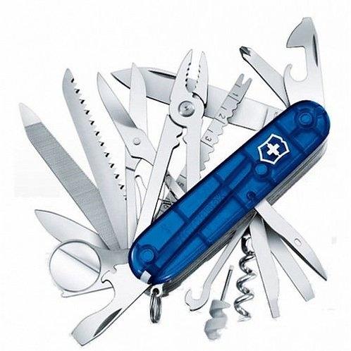 Cuchilla SwissChamp Azul Trans - 1.6795.T2
