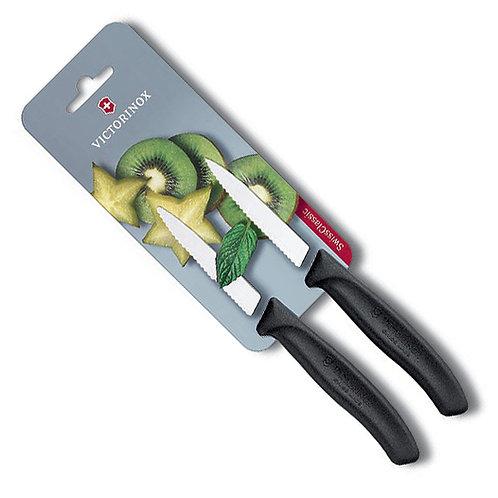 Cuchillo Legumbres 8 cm negro - 6.7633.B