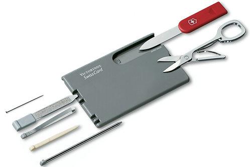 SwissCard Roja/Gris oscura - 0.7106