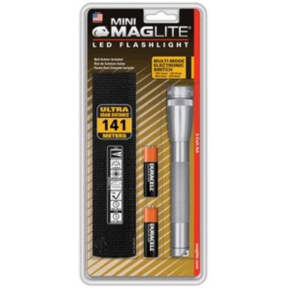 Mag LED 2AA Gris - SP2209HJ
