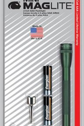 Maglite AAA Blister Verde - M3A396