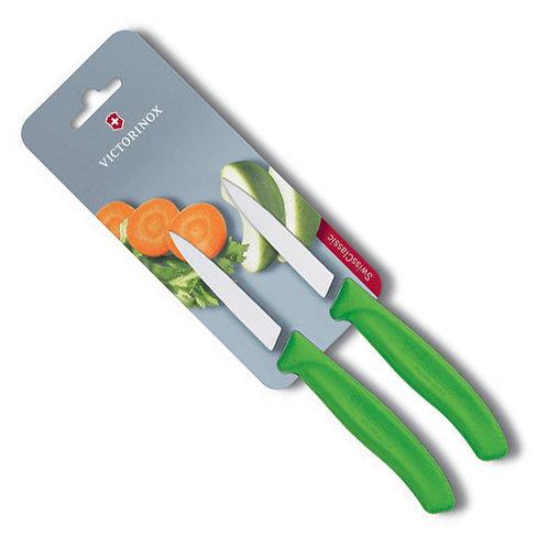 Cuchillo Legumbres 8 cm verde -  26.7606.L114B