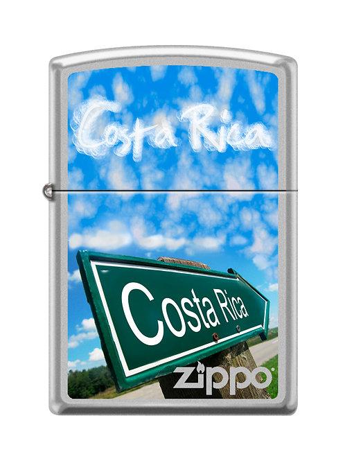 Encendedor 205CI016278 - Costa Rica Road Sign