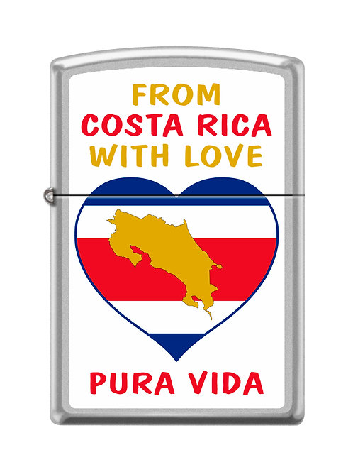 Encendedor Zippo 205CI016268- Costa Rica with Love