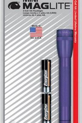 Maglite AA Blister Violeta - M2A986