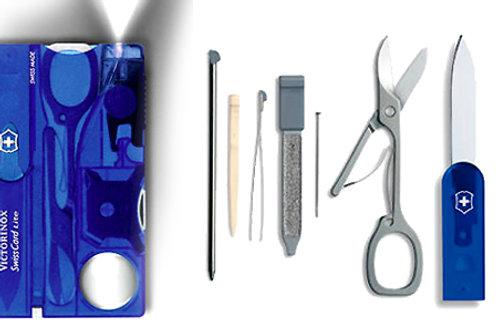 SwissCard Lite Azul Trans - 0.7322.T2