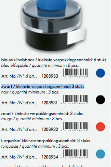 Botella Tinta T52