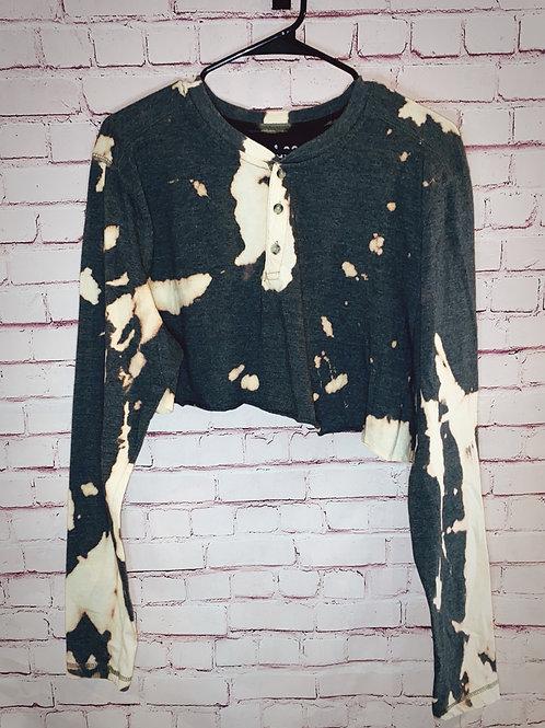 Bleach Dye Henley