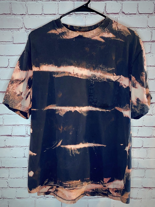 Striped Bleached Tee
