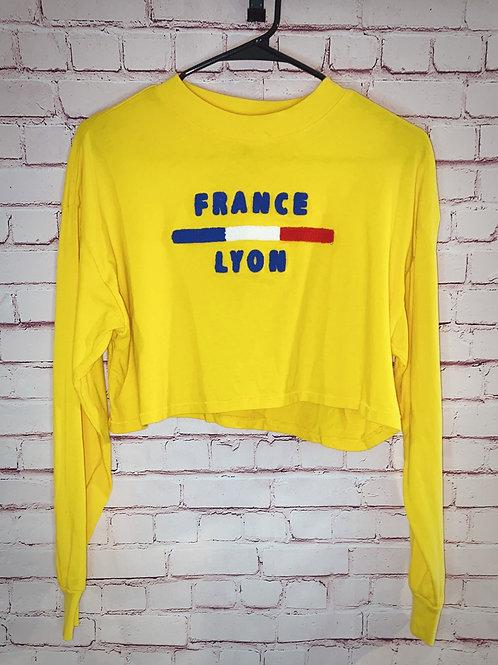 France Crop top