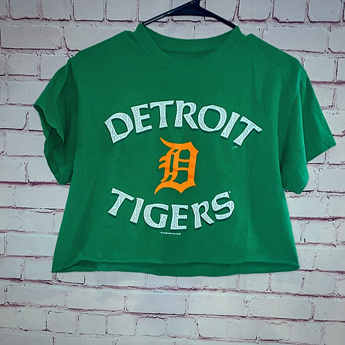 Detroit Tigers Cropped Tee