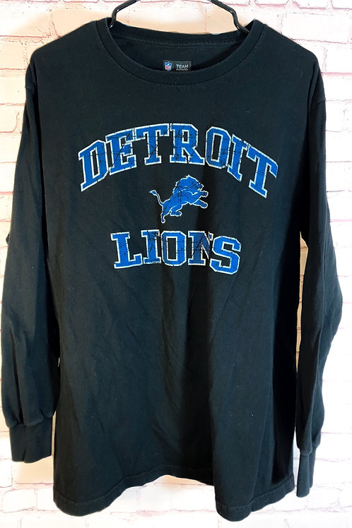Detroit lions long sleeve tshirt
