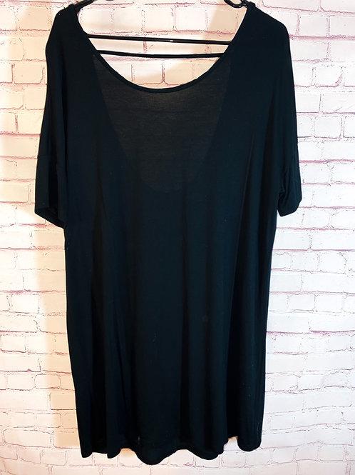 Open Back Tshirt Dress