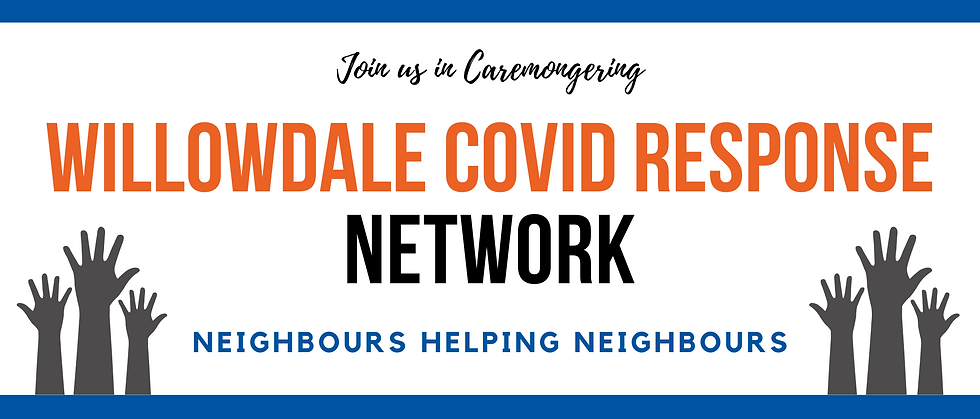 Willowdale Covid Response Network