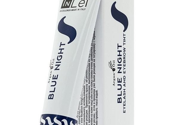 """""""BLUE NIGHT"""" blau-schwarze Wimpern- & Augenbrauenfarbe mit Arganöl"""