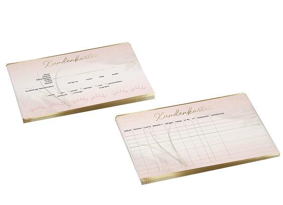 Kundenkarteikarte – 10 Stück