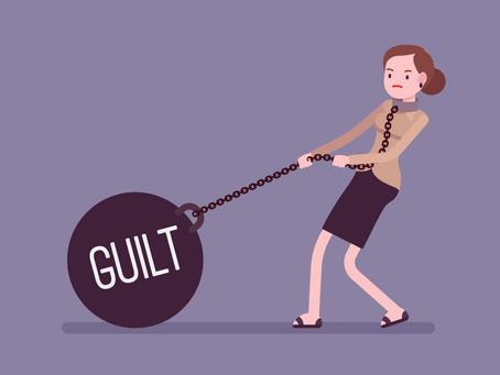Guilt-ridden privilege