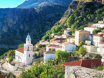 JIH A STŘED ALBÁNIE - CESTOVNÍ PRŮVODCE - itinerář cesty jihem a středem Albánie