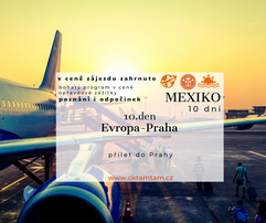 Poznávací zájezd Mexiko 2021