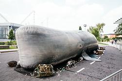 The Whale - Plastic Ocean by Circo Rum Ba Ba