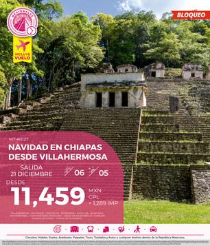 Navidad Chiapas desde Palenque