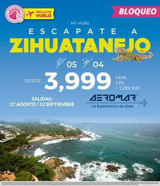Escapate Zihuatanejo