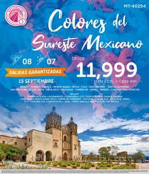 Colores del Sureste Mexicano