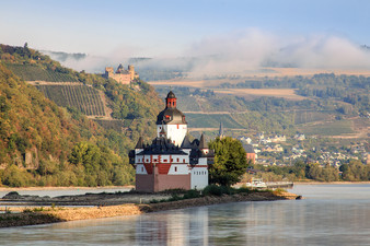 Burg Pfalzgrafenstein im Rhein