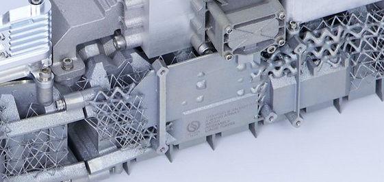 X band SAR HALE uav 3dprinted metal additive manufacturing radar
