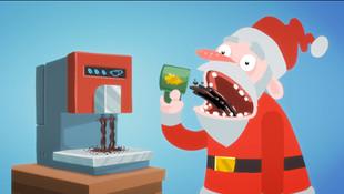 Zeitnot in Weihnachtsrot