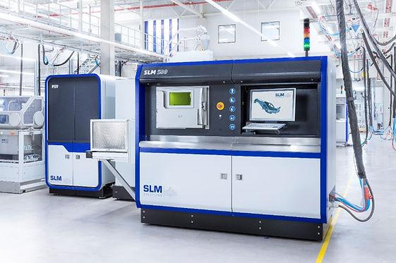 SLM500 Machine antenna radar 3dprinted metal additive manufacturing
