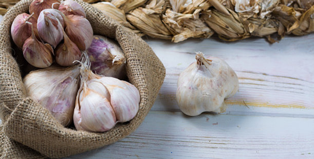 Ail sec violet 500 gr ( France )