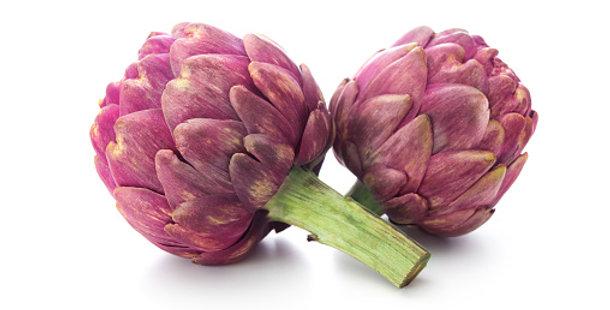 Artichauts violet, la pièce (Bretagne )