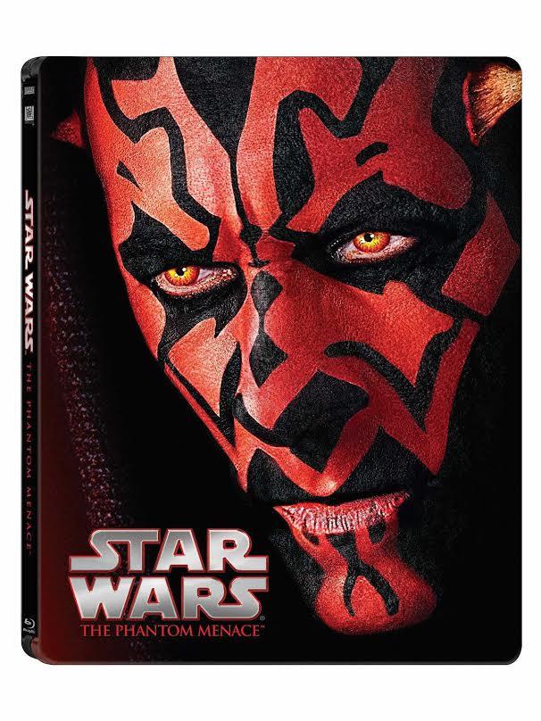 Star Wars: Epizoda I - Skrytá hrozba (CZ Blu-ray steelbook)