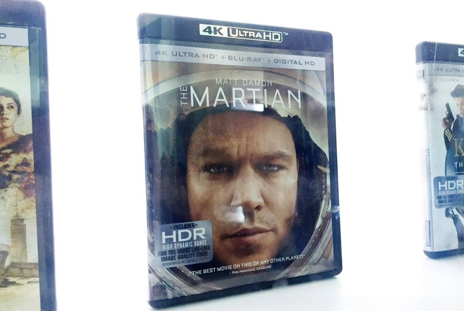 Martian (Ultra HD Blu-ray)